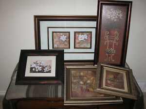 Floral Pictures - $10 Each