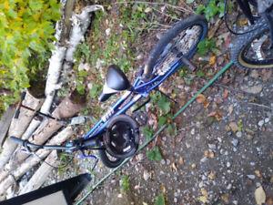 Two BMX 20 inch bikes