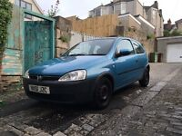 Corsa 1.2 bargain with long mot