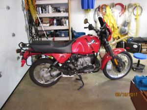 For Sale 1990 BMW R100GS