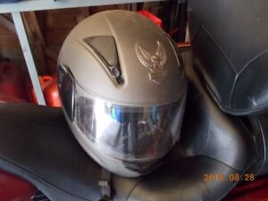 HD motorcycle helmet
