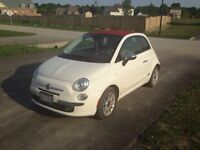 FIAT 500 convertible, 15,000 ASKING, summer driven.