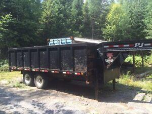 5th wheel dump trailer