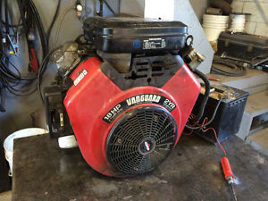 18 HP BRIGGS AND STRATTON V TWIN OHV VANGUARD ENGINE has been te