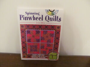 """Quilting """"Spinning Pinwheel Quilts"""" Book No 36"""