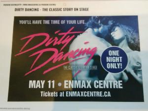 2 Dirty Dancing Tickets - Lethbridge Enmax Centre