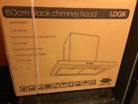 Black Logik 60cm Cooker hood