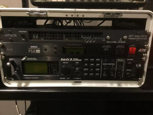 Fractal Audio Axe FX II and MFC 101 foot controller