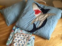 2 sets cot bedding with duvet and pillow