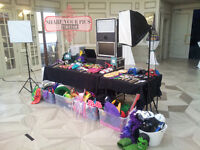 #1 PHOTOBOOTH RENTAL   UNLIMITED PRINTS   FREE PROPS