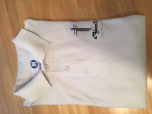 St. Marguerite D'Youville Secondary-Long Sleeve Golf Shirt