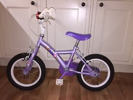 Girls apollo petal bike.