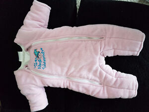 Baby merlins magic sleepsuit