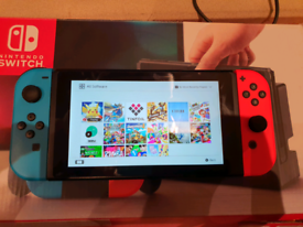 Nintendo Switch Unpatched. 12 games. Boxed.