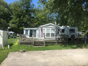 Lake Erie Seasonal Mobile home Only $600/yr rental