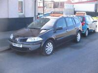 57 PLATE Renault Megane 1.5dCi 6sp Dynamique DIESEL ESTATE CAR