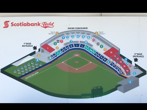 4 Box Seats to Vancouver Canadians Baseball Game