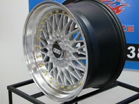 BBS RS 18 inch Staggered wheels and tires special at car kraze