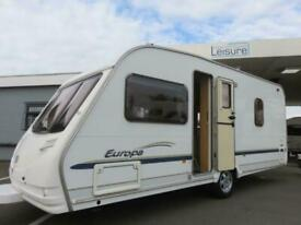 2006 STERLING EUROPA 490 4 BERTH CARAVAN WITH FIXED BED IN GREAT CONDITION......