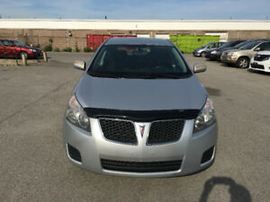 2009 Pontiac Vibe.  CRTIFIED, ETESTED, WARRANTY. NO ACCIDENT