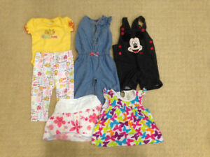 Baby Girl Clothes (9 months)