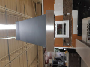 "Brand New (Never Used) Range Hood Island. 30""x 27"""