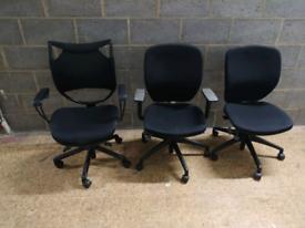 Ergonomic office chairs Orangebox task and mesh chair