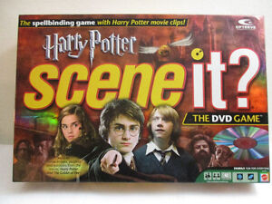 First Edition Harry Potter Scene It DVD Game