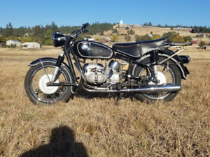 BMW R69S survivor vintage classic motorcycle