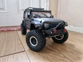 Absima Sherpa CR3.4 Crawler. Diff Locks. High/low Gear. Led. Rc Car