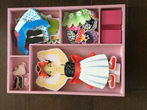 Melissa and Doug Magnetic Doll Set