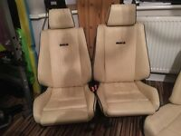 BMW E30 Sport Seats Interior for convertible