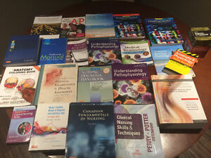 Practical Nursing textbooks for terms I - IV at Niagara College