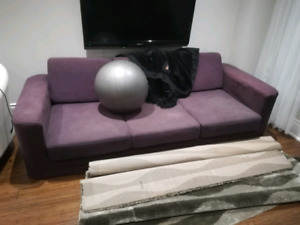 Ikea couches/ottoman - MAKE AN OFFER