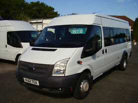 2012(12) FORD TRANSIT 135 T430 17 SEAT MINIBUS