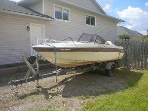 Fixer-upper boat and trailer for sale