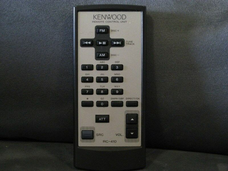 KENWOOD RC-410 Remote Control Unit Car Audio Stereo System CD Player BrandNEW