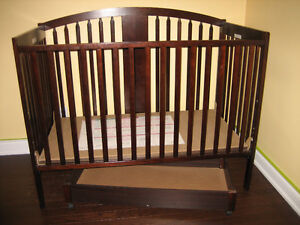 Convertible Crib (with storage) and Change Table