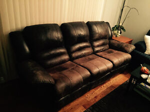 Recliner couches and chair