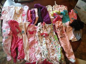 Lot de vêtements de  bébé fille 3 mois
