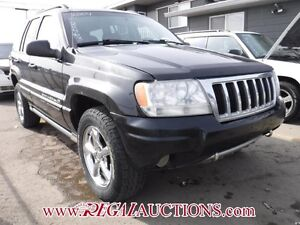 2004 JEEP GRAND CHEROKEE  4D UTILITY 4WD