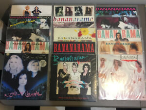 "23x Bananarama 12"" Vinyl Record Lot MINT 3x 7"" 1980's Dance Pop"