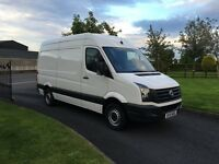 2015 Medium Wheel Base High Roof 2lt Crafter No Vat