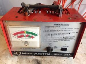 Marquette 12 volt battery load tester