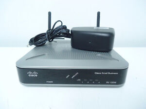 Cisco RV120W Small Business Wireless Router VPN Firewall