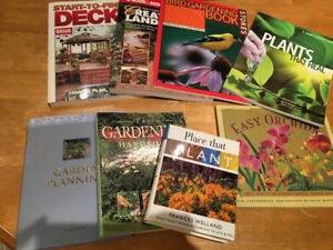 Home landscapping/gardening/decks BOOKS