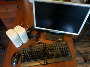 Monitor and accessories