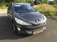 2009 Peugeot 308 1.6 HDI SW 7 Seater 1 Owner Full Service History Timming Belt Changed Superb Drive