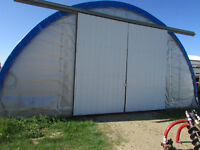 Fabric Storage Quonset 32 wide x 66 long