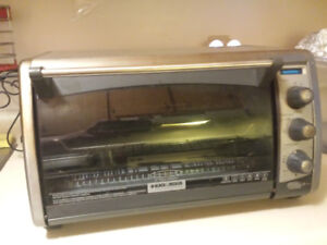 Black and Decker convection toaster oven